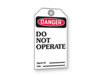 Inventory, ID & Inspection Tags